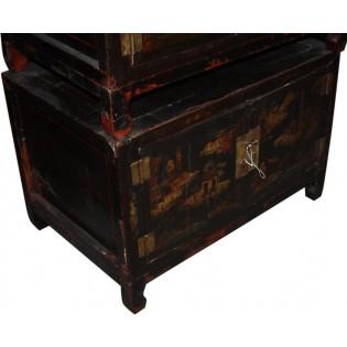 Petit meuble antique decore