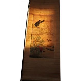 Image chinoise de 110 ans sur toile