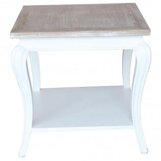 table basse shabby chic avec plateau en