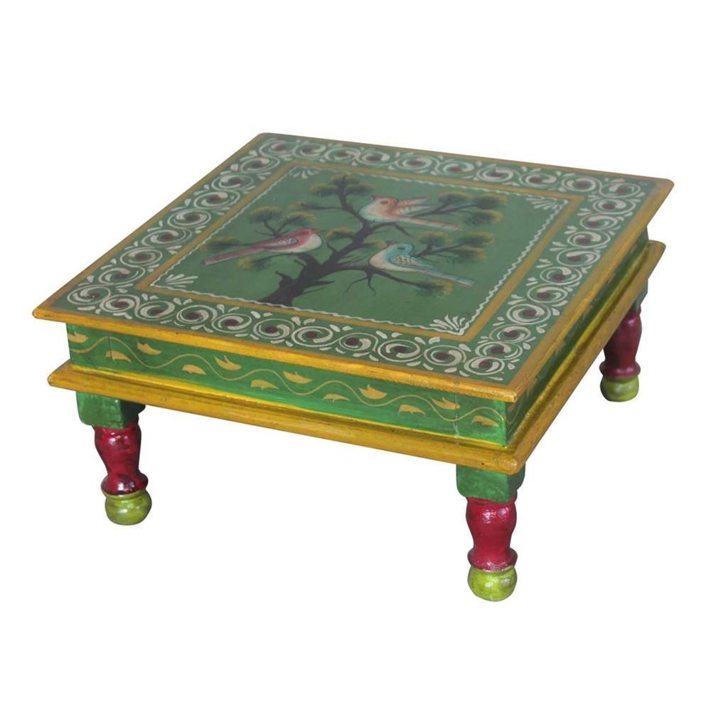 Tavolini Bassi Da Salotto Etnici.Tavolino Piccolo Da Salotto Etnico 34x18x34 Codice Jabu 40g