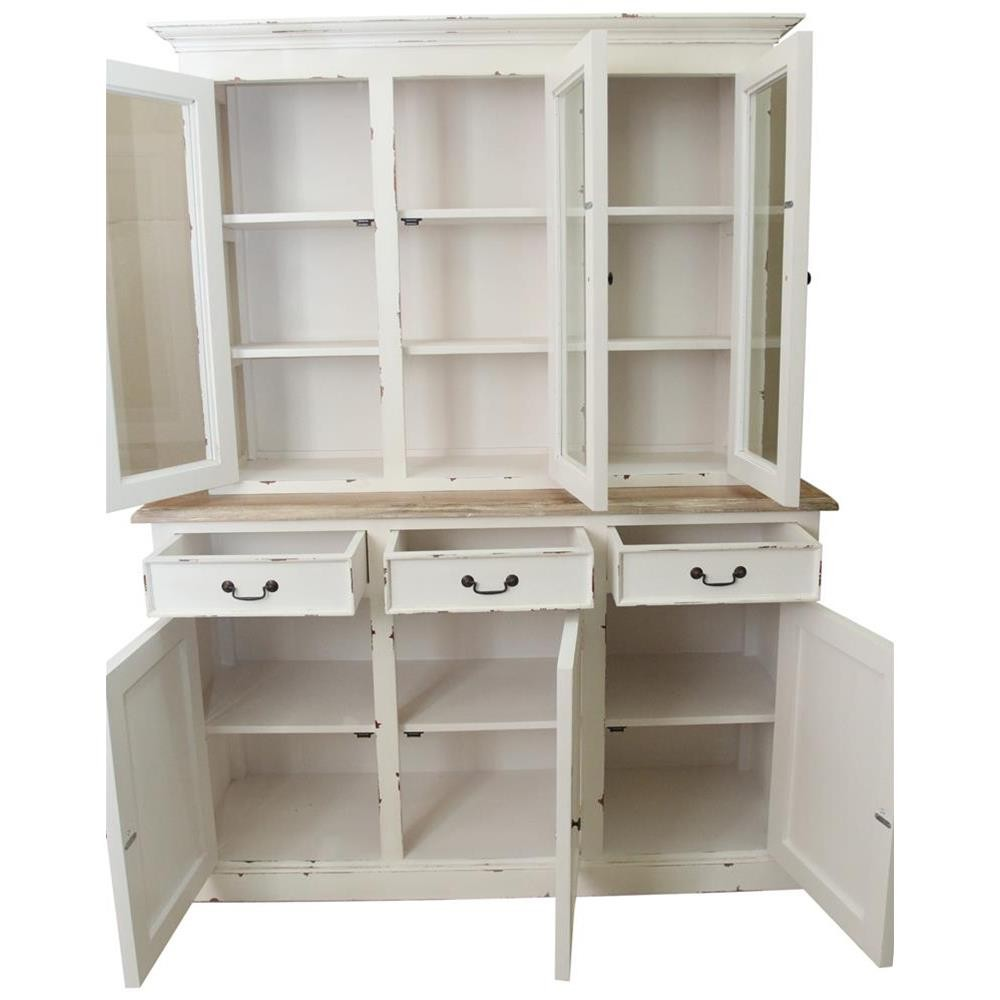 Mobile dispensa cucina shabby chic 150x195x45 codice axsh for Mobile dispensa per cucina moderna