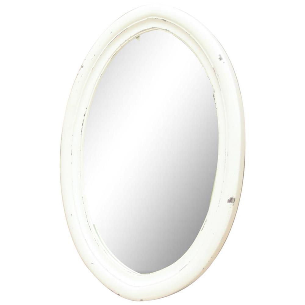 Specchio provenzale shabby chic bianco 70x50x3 codice axsh - Specchio provenzale ...