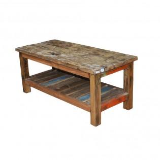 Tavolino Da Salotto In Legno.Tavolino Da Salotto In Legno Di Riciclo 110x45x40 Codice