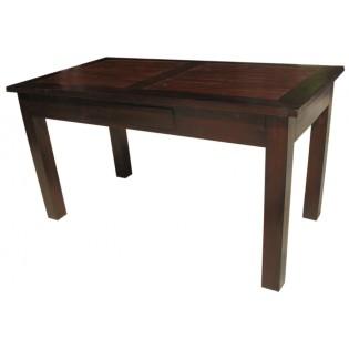 Tavolo da pranzo in teak e bamboo