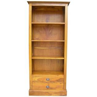 libreria con cassetti chiara
