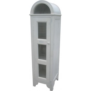 vetrina a cupola bianca