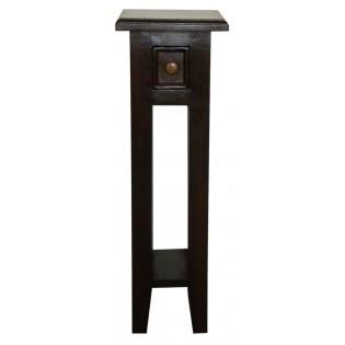 tavolino piccolo alto scuro