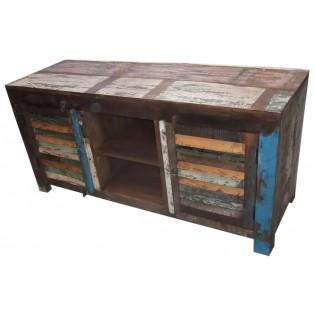 Mobile porta tv con legno di recupero 153x72x52 codice JAC-130-5 ...