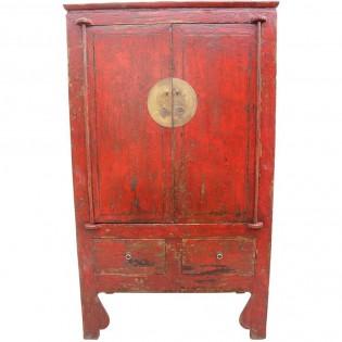 Antico armadio cinese laccato 112x192x57 codice ma 2394 - Mobili antichi cinesi ...