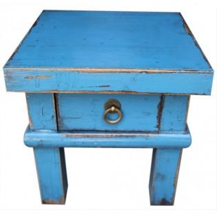 Tavolino basso cinese celeste