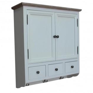 Mobiletto bianco da parete per cucina - bagno 70x77x22 codice SW ...