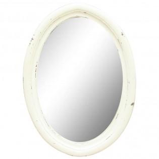 Specchio provenzale shabby chic bianco 70x50x3 codice AXSH-37 | Etnicart