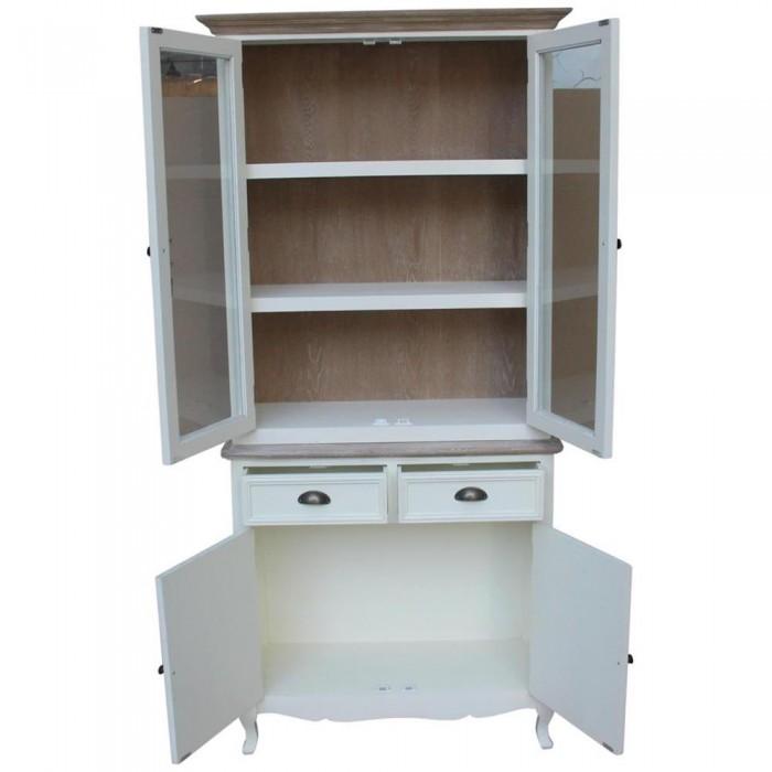 Mobile cucina dispensa bianco con top shabby 89x192x35 codice SW ...