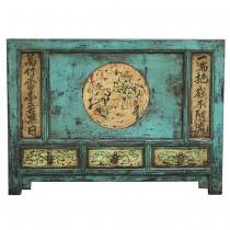 Credenza base celeste con dipinti with stampe etniche - Mobili antichi cinesi ...