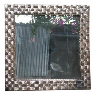 espejo en fibra de platano