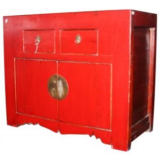 Mueble anticuado chino de madera de olmo
