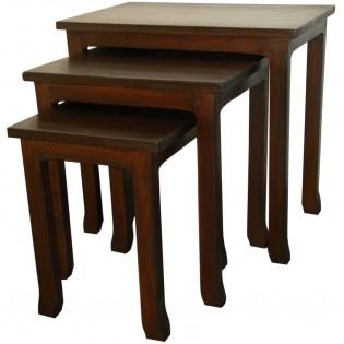 mesa de centro en caoba (la mas pequena)