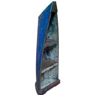 Librero estilo barco con madera mejorada